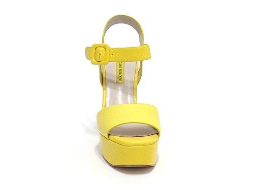 Barachini , Damen Sandalen gelb gelb