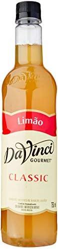 Xarope Davinci Limão 750Ml