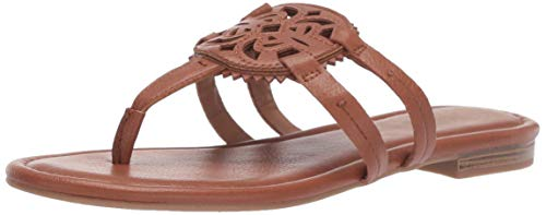 Circus by Sam Edelman Women's Canyon Flat Sandal Saddle Tumbled Bolt 6.5 M US
