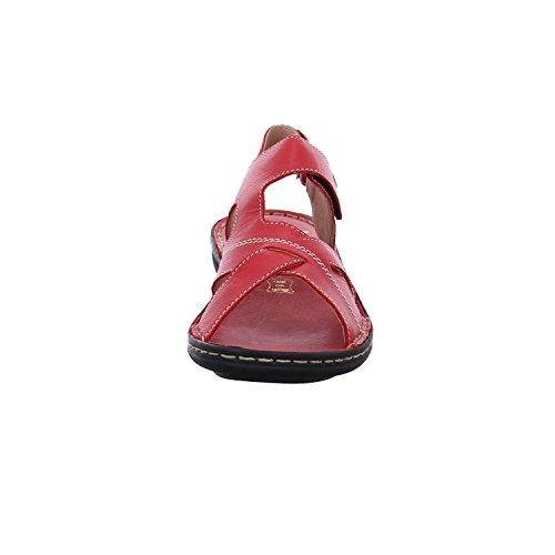 Rieker Dames V9173 Sandales Fermées Rouge (rosso)