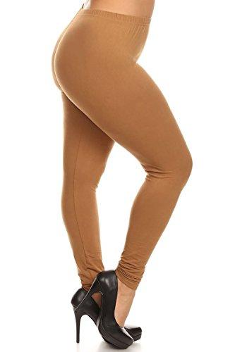Solid Leggings (EXTRAPLUS128-MOCHA)