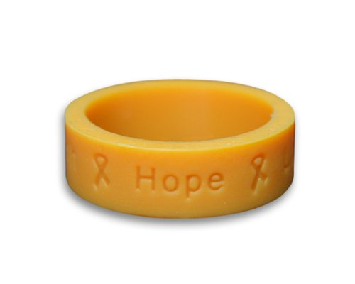 Gold Silicone Ring (Retail) ()