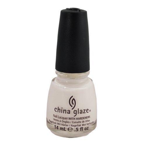 China Glaze Nail Polish, Snow, 0.5 Fluid Ounce
