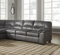 Ashley Furniture Signature Design - Bladen Contemporary Left Arm Facing Sofa - Sectional Component ONLY - (Arm Facing Sofa)