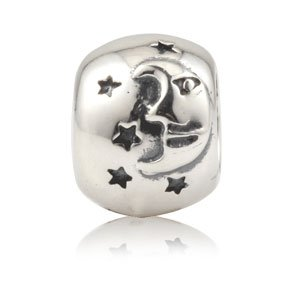 Everbling Moon And Stars Authentic 925 Sterling Silver