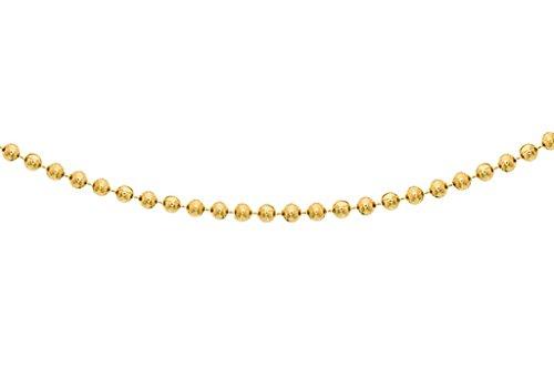 "Jewellery World Bague en or jaune 9carats Chaîne 46cm/18"""