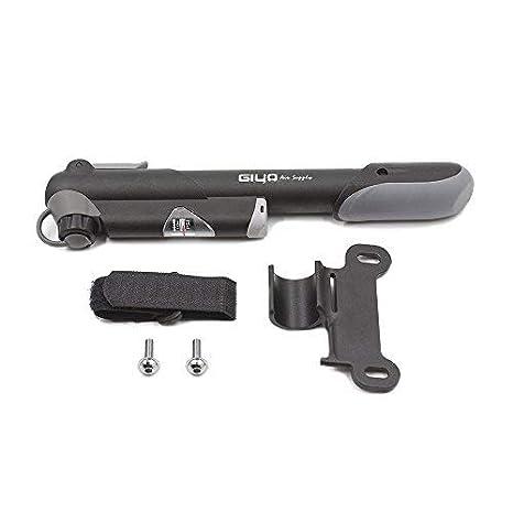Yizhet Mini Bomba para Bicicleta con Manómetro - Compatible con ...