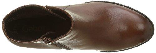 Gabor Shoes Basic, Botines para Mujer Marrón (caramello Effekt)