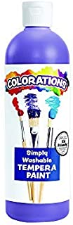 product image for Colorations Washable Tempera Paint, 16 fl oz, Violet, Non Toxic, Vibrant, Bold, Kids Paint, Craft, Hobby, Fun, Art Supplies