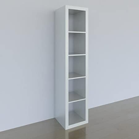 Ikea Expedit Etagere 5 Compartiments Blanc 185 X 44 X 39 Cm