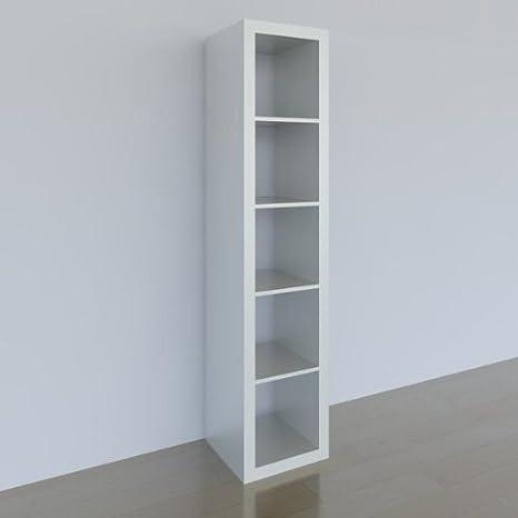 Ikea Expedit étagère 5 Compartiments Blanc 185 X 44 X 39 Cm