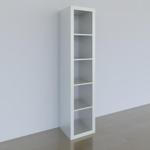 Regal ikea expedit  EXPEDIT Shelving Unit / 5 Shelves / White 185 x 44 x 39 cm: Amazon ...