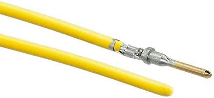 Pack of 100 10 PRE-CRIMP A1857//19 YELLOW 0845240014-10-Y9