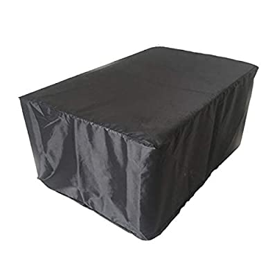 Uheng Square Patio Table & Chair Set Cover Furniture Cover 989835 Inches - Large Durable and Waterproof Outdoor Garden Furniture Cover Heavy Duty : Garden & Outdoor
