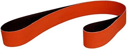 3 x 18 60 YF-Weight Full Flex 3M Cloth Belt 67863 777F Orange