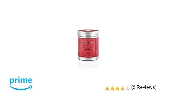 Tinte Henna&Amla -Anaranjado Claro o Caoba Oscuro -Ideal para Canas -150g- Khadi: Amazon.es: Belleza
