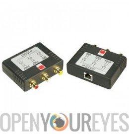 - Extender AV Composite Video & Stereo Cat 5/6 up to 600m