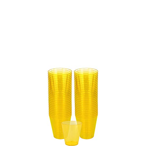 Big Party Pack Shot Glasses | 2 oz. | Sunshine Yellow | Pack of 100 | Party Supply]()