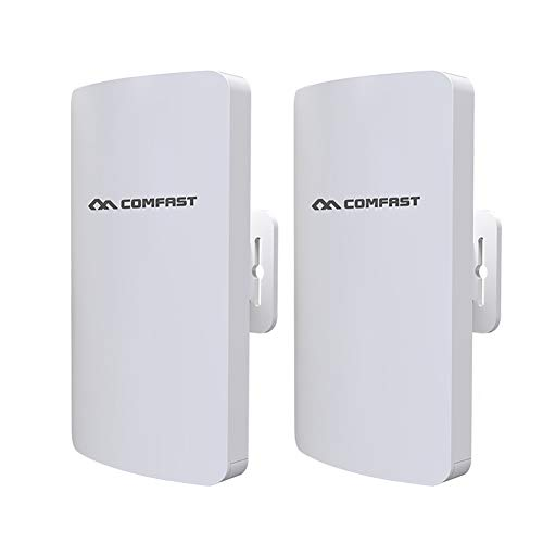 - MBEN Wireless Outdoor CPE Kit, Indoor and Outdoor Point-to-Point Wireless Bridge/CPE Support 3KM Transmission Distance Solution for PTP, PTMP Applications (WDS)