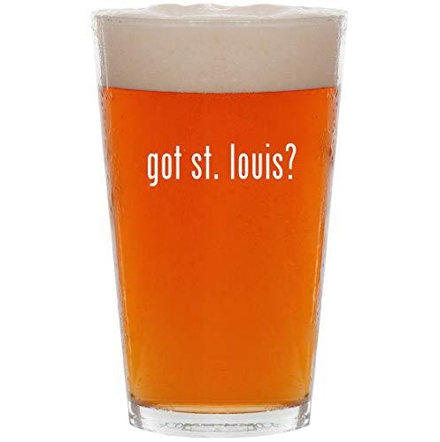 got st. louis? - 16oz All Purpose Pint Beer - Baby St Louis Rams Blanket