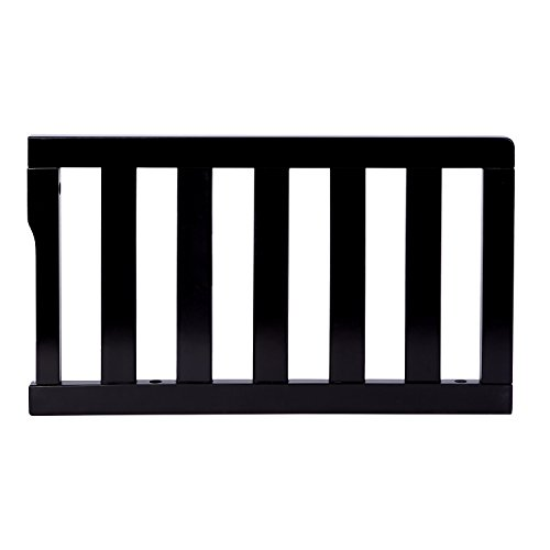 Dream On Me Universal Convertible Crib Toddler Guard Rail, Black