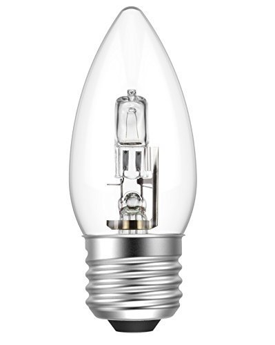 Starlight C35 ECO - Bombillas halógenas de bajo consumo regulables E27 ES rosca Edison de 240 W, transparente, E27 46.00|wattsW 240.00|voltsV: Amazon.es: ...