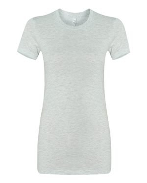 - Bella + Canvas Ladies The Favorite T-Shirt, Small, ASH