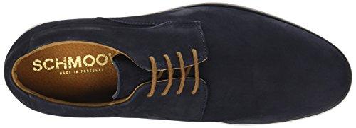 Schmoove Shaft Nubuck, Scarpe Stringate Derby Uomo Blu (Azul 05)