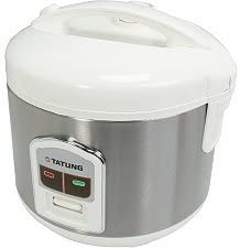 Tatung TRC-8BD1 8-Cup Stainless Rice Cooker