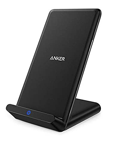 Anker Wireless Charger, PowerPort Wireless 5 Stand, Qi-Certified, Compatible iPhone 11, 11 Pro, 11 Pro Max, XR, XS Max, XS, X, 8, 8 Plus, Samsung ...