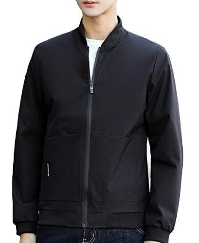 Tasca Giacca manicotto Colletto Alla Salone Dimensioni Outwear Grandi Pattern1 Coreana Di Lungo Mogogomen Giunzione 10q5n8xvq