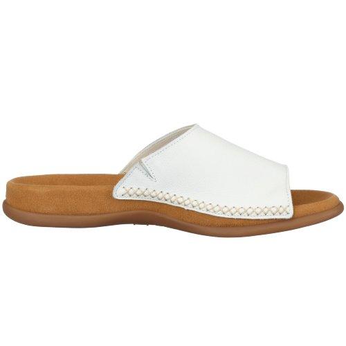 bianco Sabot 03 Gabor Bianco Donna Pantoletten amp; 705 aBUqwz