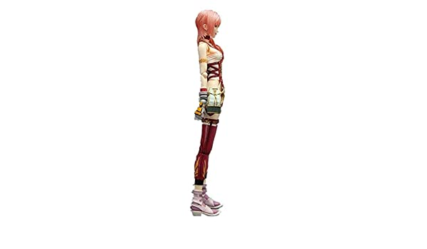 "Square ENIX Final Fantasy FF 13 XIII 2 Play Arts Kai Serah Farron Figure 8/""H"