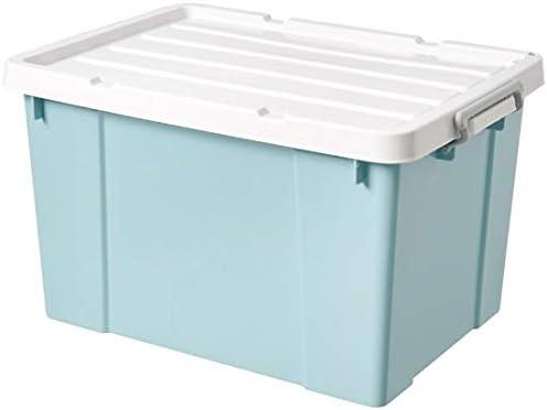 N/A Verdickte Kunststoff große Kleidung Quilt Snare sediert (Empfangsbox) Wert-Doppelpack: 780 Modell s 780 Modell Verdicktes Kristallblau