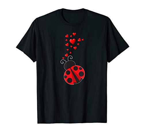 Ladybug Heart Love Bug Ladybug T - Heart Love Bug Ladybug