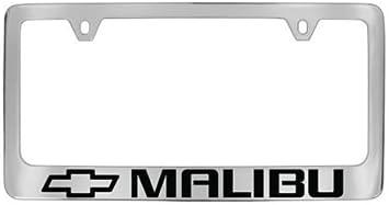 Chevy Malibu Black License Plate Frame