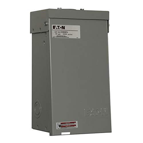Eaton CH60SPAST Powder-Coated Galvanized Steel 1-Phase 2-Pole Spa Panel 60 Amp