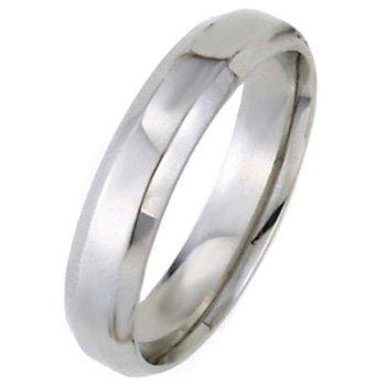 Wedding Bands,Platinum Beveled