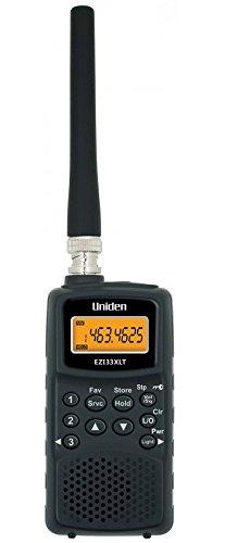 Uniden EZI-33 XLT Air band Radio Radio Scanner, Black