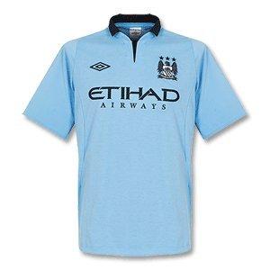 City Home Shirt - Manchester City Home Football Shirt 2012/13, Size 38