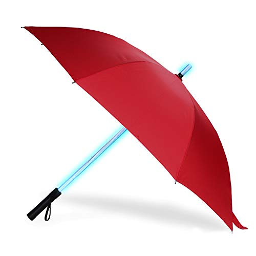 BESTKEE Lightsaber Umbrella - LED Laser Sword Light