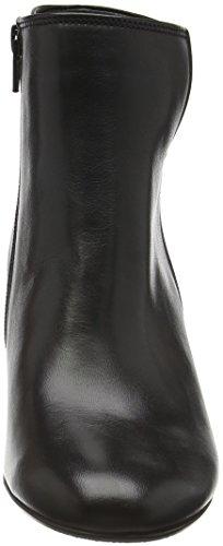 Chaussures Gabor 55,880 Femmes À Moitié Bottes Noir (noir 27)