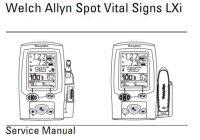 Service manual propaq encore vital signs monitor welch allyn.