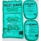 HEAT WAVE Instant Reusable HAND WARMERS (1 pair) + Heat W...