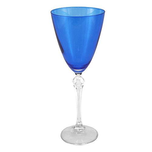 Jogo com 6 Taças para Vinho Tinto Elisabeth, 250 ml - Ricaelle, Bohemia 40760-250-AZ, Transparente