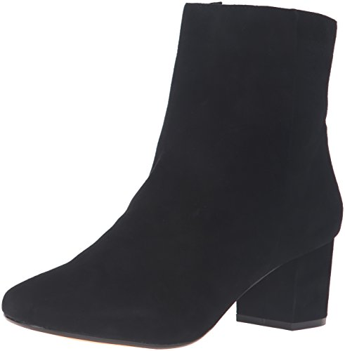 2e10210b3 Dune London Women's Pebbles Ankle Bootie, Black Suede, 37 EU/6 ...