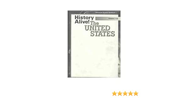 History Alive Interactive Student Notebook 1