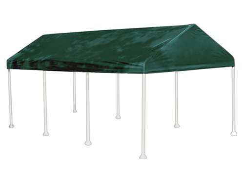ShelterLogic 10x20 8-Leg Polyester Canopy 1-3/8