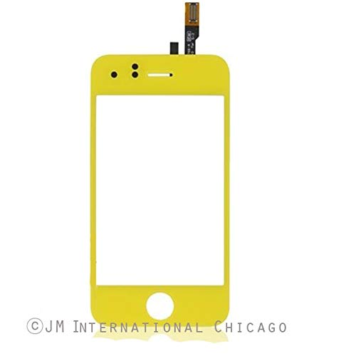ePartSolution_Yellow Touch Screen Digitizer Glass Lens for iPhone 3GS Replacement Part USA