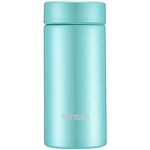 (Tiger water bottle 200ml straight drinking stainless mini bottle smooth drinking Sahara mug lightweight dream gravity powder green MMP-J020-GP)